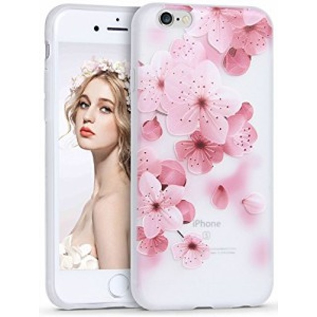 f1b1a07f45 iPhone 6 6s ケースImikoko アイフォン6 6s カバー スマホケース 花柄 おしゃれ 人気 可愛い ソフト