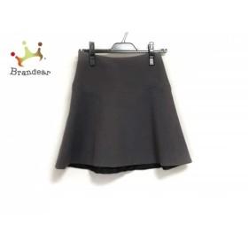 ミリー MILLY スカート サイズ0 XS レディース 新品同様 ダークグレー     スペシャル特価 20190802