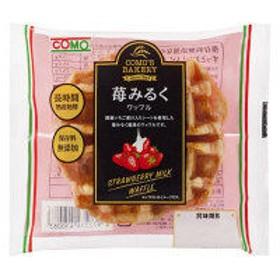 苺みるくワッフル 1個 コモ ロングライフパン