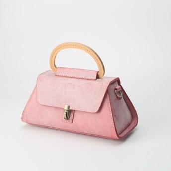 【Creema限定 早割価格 送料無料】本革手作りのショルダーバッグ 総手縫い手持ち 肩掛け 2WAY 鞄