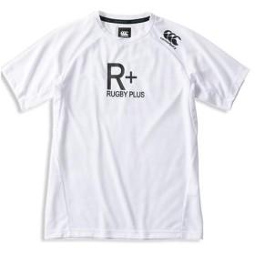 カンタベリー(canterbury) メンズ ラグビープラス ワークアウトT ホワイト RP39029 10 半袖 Tシャツ ティーシャツ スポーツウェア カジュアル