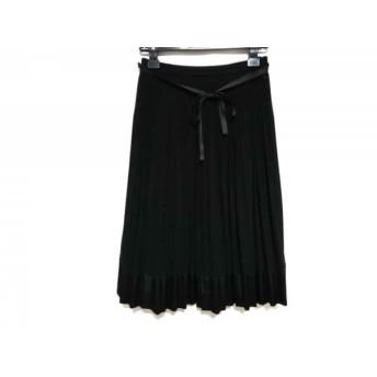 【中古】 トゥービーシック TO BE CHIC スカート サイズ40 M レディース 黒