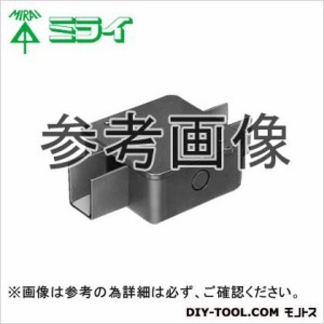 未来工業 インテリアダクト用 分岐ボックス シルバー  DCP41-2S