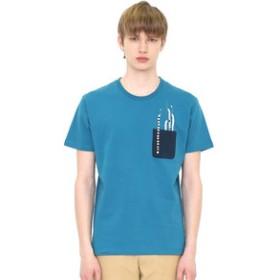 【グラニフ:トップス】グラニフ Tシャツ メンズ レディース 半袖 ポケットショートスリーブティー チンアナゴ