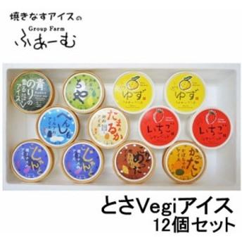 とさVegiアイス 12個セット/焼きナス/なすアイス/高知県産/ゆず/ゆずアイス/とさベジアイス/野菜のアイス