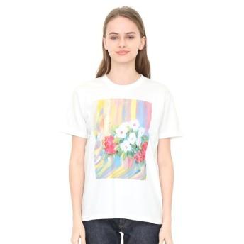 [マルイ] 【ユニセックス】コラボレーションTシャツ/あさになったのでまどをあけますよ(荒井良二)/グラニフ(graniph)