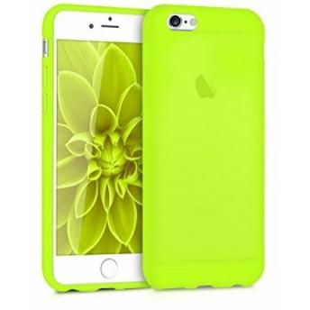 kwmobile Apple iPhone 6 / 6S 用 ケース - スマホカバー - 携帯 保護ケース ネオンイエロー アイフォン
