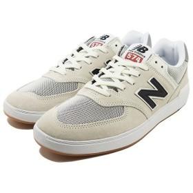 NEW BALANCE ニューバランス ヌメリック AM574ROS [サイズ:26.5cm (US8.5) Dワイズ] [カラー:ホワイト×ブラック]