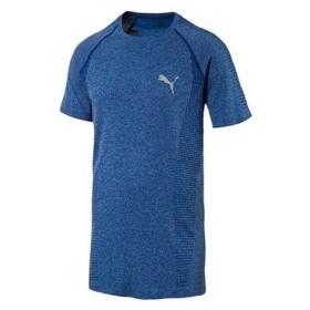 プーマ(PUMA) EVOKNIT ベーシック Tシャツ 590632 10 BLU (Men's)