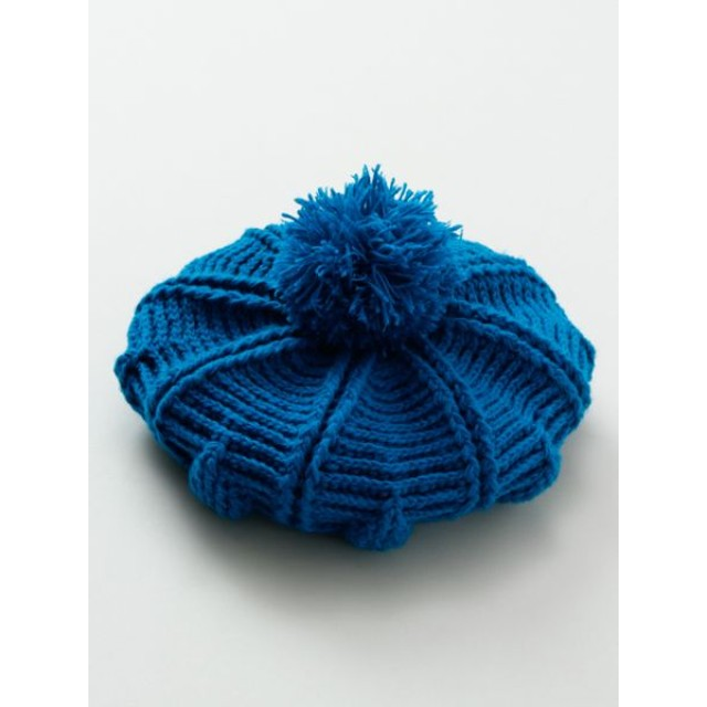 帽子全般 - チャイハネ 【チャイハネ】ポンポンニットベレー帽