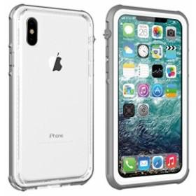 iPhone x/xs 5.8インチ 防水ケース IP67規格 完全防水 耐衝撃 衝撃吸収 防水ケースフェイスID認証対応 操作便利 脱着簡単 保護タ