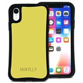 WAYLLY(ウェイリー) iPhone XR ケース アイフォンXRケース くっつくケース 着せ替え 耐衝撃 Qi対応 米軍MIL規格 [スモールロ