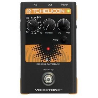 TC HELICON エコー タップ ディレイ VOICETONE E1