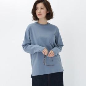 [マルイ]【セール】長袖 Tシャツ クルーネック WEB限定 11250/ベース ステーション(レディス)(BASE STATION Ladies)