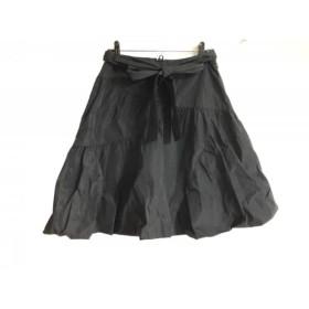 【中古】 トゥービーシック TO BE CHIC スカート サイズ42 L レディース 美品 黒