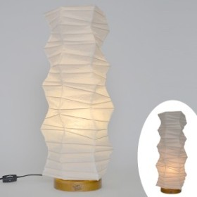 テーブルライト 和紙 テーブルランプ 揉み紙 ( 送料無料 照明 テーブル LED 和室 和モダン 電気 デスク ライト 和風 照明器具 テーブ