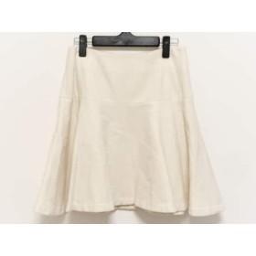 【中古】 エストネーション ESTNATION スカート サイズ38 M レディース アイボリー
