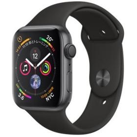 Apple Watch Series 4 GPSモデル 44mm MU6D2J/A ブラックスポーツバンド 国内正規品