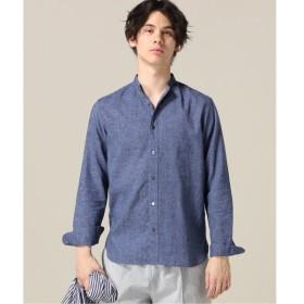[マルイ]【セール】メンズシャツ(【Begin掲載】HERDMAN LINEN ノーカラー シャツ)/417エディフィス(417 EDIFICE)