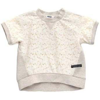 [マルイ]【セール】レース切替Tシャツ/エフオーオンラインストア(F.O.Online Store(SC))