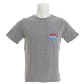 カブー(KAVU) サーフロゴTシャツ Gy Sサイズ 19820423023003 (Men's)