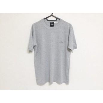 【中古】 ノースフェイス THE NORTH FACE 半袖Tシャツ サイズMen's S メンズ グレー