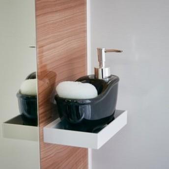 ソープディスペンサー bathtub(バスタブ) ブラック EF-UB06BK