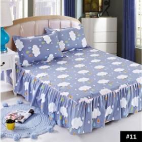 ベッドカバー ベッドシーツ シングル ベッドスカートシック おしゃれ 柔らかい 上品 ベッドスプレッド 120×200cm