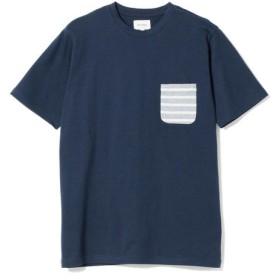 [マルイ]【セール】BEAMS / 天竺 ボーダー ポケット クルーネック Tシャツ/ビームス(BEAMS)