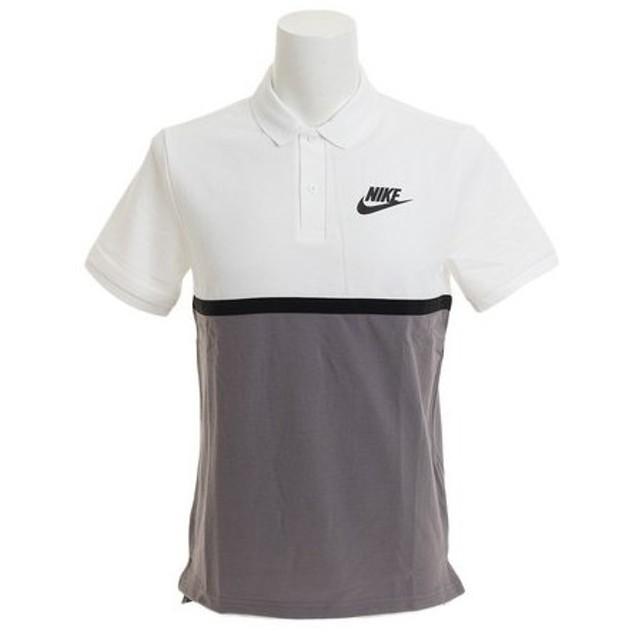 ナイキ(NIKE) マッチアップ PQ NVLTY ポロシャツ 886508-100SU18 (Men's)
