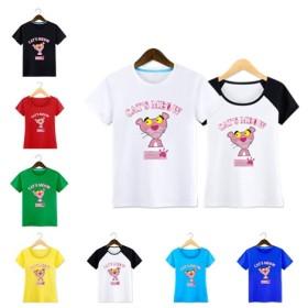 【特価☆限定SALE】Pink Pantherフード付きペアルックパーカーコート韓国ファッションディズニー男女適用Tシャツ半袖長袖トレーナーカップルマウスジャンパー恋人韓流友達恋人同士ペアマウス誕生日