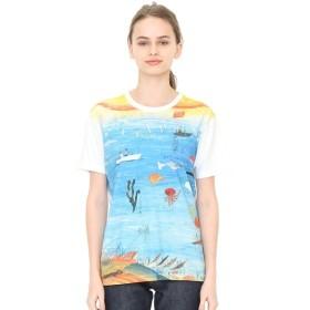 [マルイ]【セール】【ユニセックス】コラボレーションTシャツ/たいようオルガン海(荒井良二)/グラニフ(graniph)