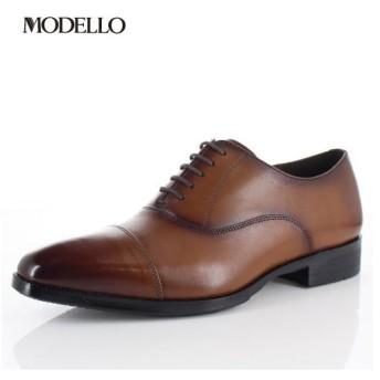 マドラス モデロ madras MODELLO DM5121 LBR メンズ フォーマル ビジネスシューズ ストレートチップ 内羽根式 革靴 3Eブラウン