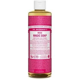 ドクターブロナー マジックソープ(magic soap) ローズ 473ml ネイチャーズウェイ