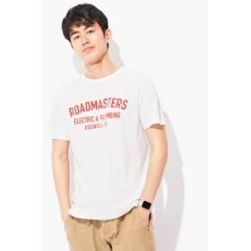 Champion 「ロチェスター」プリントTシャツ メンズ オフシロ