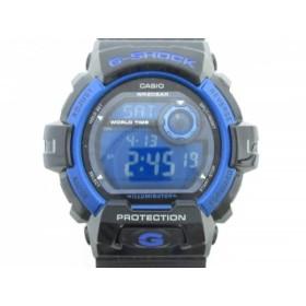 【中古】 カシオ CASIO 腕時計 美品 G-SHOCK G-8900A メンズ ブルー