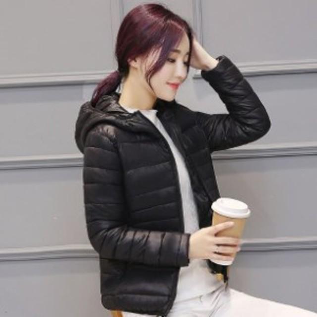 ec88ca40600820 秋冬 ワインレッド 長袖 ジャンパー 女性 防寒 カラフル アウター フード あったか 大きいサイズ 黒 ネイビー レディース