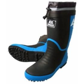 喜多 スパイクゴム長靴(カバー付) ブラック LL(26.5~27.0) KR7200