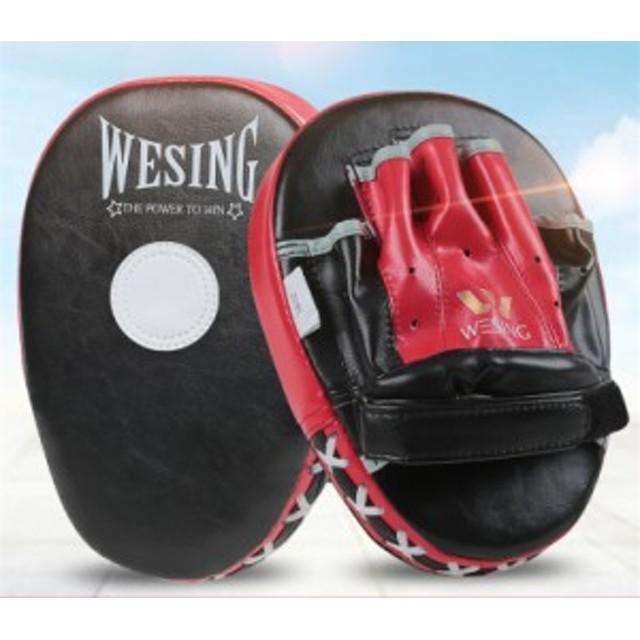 パンチング ミット 2個セット キックミット ボクシング テコンドー 空手 総合格闘技 武術 トレーニング 軽量
