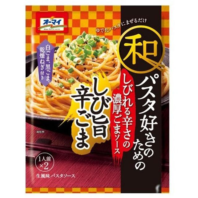日本製粉 和パスタ好きのための しび旨辛ごま 56.2g
