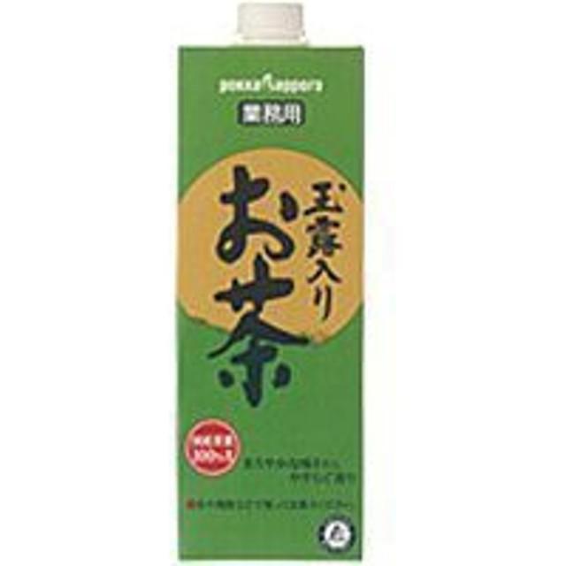 サッポロ 玉露入りお茶 業務用パック 1L × 6本