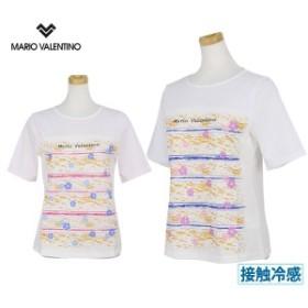 【30%OFFセール】Tシャツ レディース マリオ・ヴァレンティーノ MARIO VALENTINO マリオバレンチノ 日本正規品 日本規格品 2019 春夏