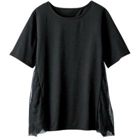 [マルイ] サイドレースチュール重ねTシャツ/ラナン(Ranan)