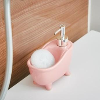 ソープディスペンサー bathtub(バスタブ) ピンク EF-UB06PK