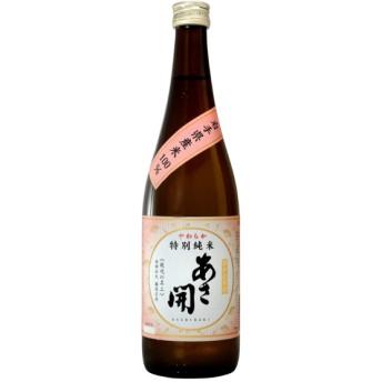 あさ開 特別純米酒やわらか 720ml