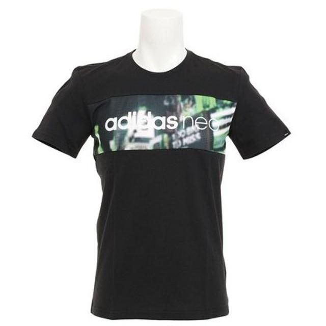 アディダス(adidas) HM シティ グラフィックTシャツ MKE89-BK0544 (Men's)