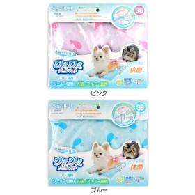 セール/ ペットべッド アルミ マット 夏用 犬ベッド 猫ベッド 犬用ベッド 猫用ベッド ひえひえジェルマット 抗菌SS  ピンク ペッツルート