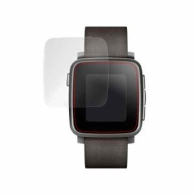 5daebfd35c OverLay Brilliant for Pebble Time Steel 2枚組 極薄 光沢 液晶 保護 シート フィルム