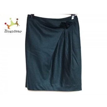 トゥモローランド TOMORROWLAND スカート サイズ36 S レディース 美品 ダークグリーン スペシャル特価 20190731