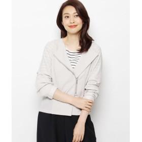 smart pink(スマートピンク) 【洗える】サイドジップアシメジャケット